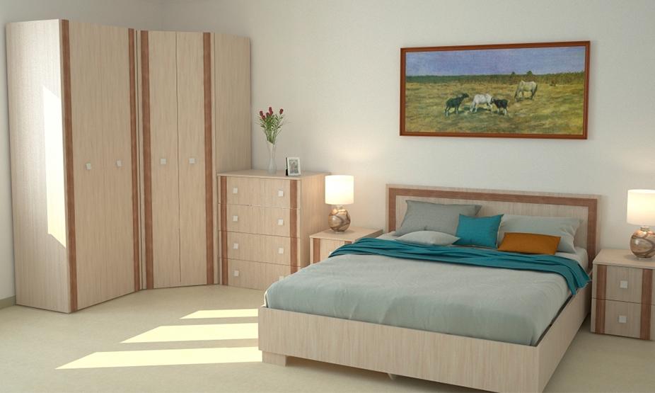 модульная спальня в цвете джарра фабрика мебели
