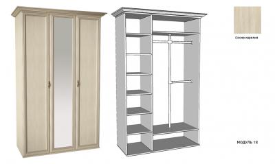Шкаф 3-створ. Равенна